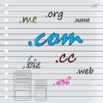 Die Geschichte der com Domains