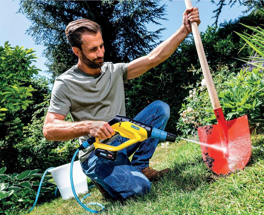 Mobile Helfer beim Frühjahrsputz: So hat auch der Mann Spaß daran