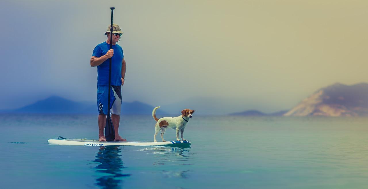 Große Freiheit auf dem Wasser – Stand Up Paddling